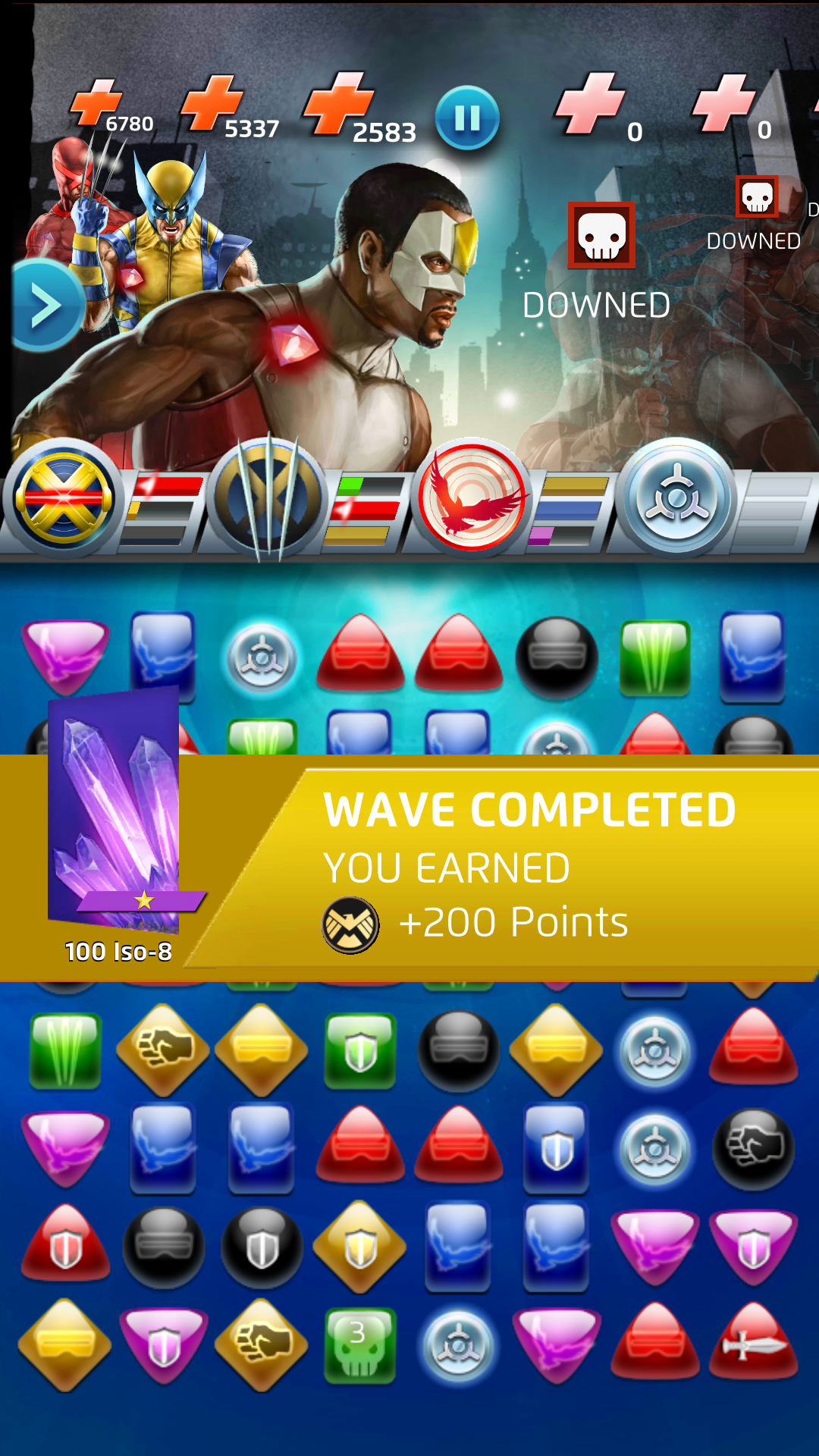 wave match complete